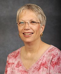 Linda Allen, administrative assistant, chemistry